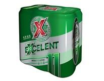Excelent ležák 11 pivo 6x500ml plech