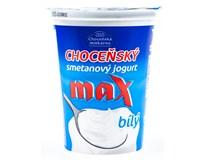 Choceňský Jogurt Max smetanový bílý chlaz. 1x380g