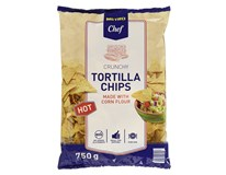 Metro Chef Tortilla Chips Hot 1x750g