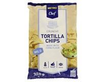 Metro Chef Tortilla Chips Mild 1x750g