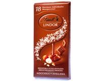 Lindt Singles Hazelnut čokoláda mléčná s oříškovou náplní 1x100g