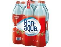 Bonaqua Ochucená jahoda/rebarbora 6x1,5L