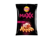 Lay's Maxx Smažené bramborové lupínky s příchutí grilované slaniny 1x130g