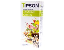 Tipson Green Jasmine čaj 25x1,5g plech