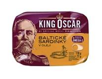King Oscar Sardinky v oleji 12x110g