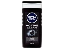 Nivea Active Clean sprchový gel pán. 1x250ml