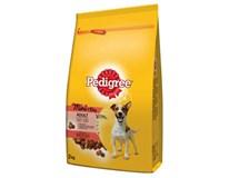Pedigree Mini hovězí a zelenina granule pro psy 1x2kg