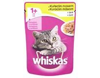 Whiskas kapsička kuřecí v želé pro kočky 24x100g