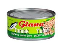 Giana Tuňák drcený ve vlastní šťávě 6x185g