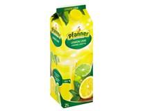 Pfanner Nektar Citron-limeta 25% 1x2L