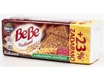 Opavia Bebe kakaové sušenky 1x160g+ 23% navíc