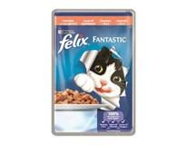Purina Felix Sensations kapsa losos pro kočky 20x100g