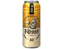 Velkopopovický Kozel Pivo světlé výčepní 24x550ml plech