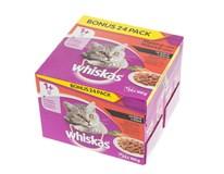 Whiskas Masový výběr kapsa pro kočky 24x100g