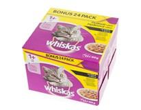 Whiskas Drůbeží výběr kapsa pro kočky 24x100g