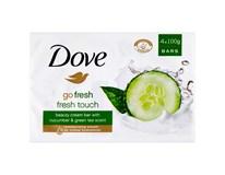 Dove Fresh Touch mýdlo 4x100g