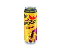 Big Shock! Cherry energetický nápoj 6x500ml plech