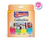 Sada utěrek z mikrovlákna Spontex 4 Collection 4ks