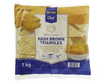 Metro Chef Hash Brown Triangles trojhránky mraž. 10x1kg