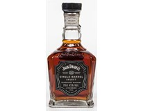 Jack Daniel's Tennessee single barrel 45% whiskey 6x700ml