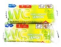Mr.Mattes WC náhradní náplň citrus 4x40g