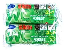 Mr. Mattes WC náhradní náplň les 4x40g