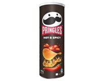 Pringles Hot&Spicy chipsy 1x165g