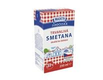 Madeta Jihočeská Smetana ke šlehání trvanlivá 31% chlaz. 1x250ml