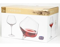 Sklenice na víno Bohemia Crystal Rebecca 590ml 6ks
