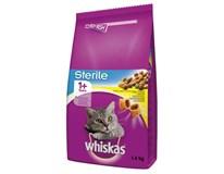 Whiskas Sterile kuře granule pro kočky 1x1400g