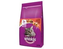 Whiskas Hovězí granule pro kočky 1x3,8kg