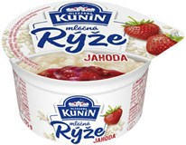 Kunín Mléčná rýže jahoda chlaz. 12x175g