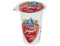 Kunín Jogurt kousky jahod chlaz. 10x150g