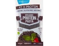 MaxSport BIO Organic Protein Pasta Špagety proteinové Black Bean 1x200g
