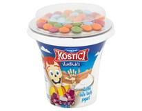 Danone Kostíci Sladkáči Jogurt sladký bílý a čokoládové dražé chlaz. 10x109g