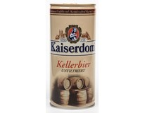Kaiserdom světlý ležák pivo nefiltrované 1x1L plech