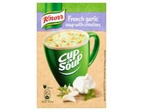 Knorr Prima Pauza Polévka česneková instantní 32x18g
