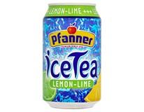 Pfanner Ledový čaj citron 24x330ml plech
