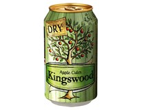 Kingswood Dry Cider 4x330ml plech