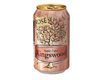 Kingswood Rosé Cider 4x330ml plech