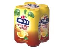 Birell Polotmavý citron nealkoholické pivo 4x500ml plech