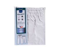 Kalhoty Metro Professional unisex vel.62/52 bílé 1ks