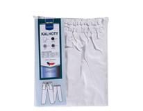 Kalhoty Metro Professional unisex vel.64/54 bílé 1ks