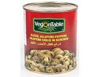 Papričky Jalapeno krájené 1x3,2kg