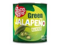 Papričky Jalapeno krájené 1x2,9kg