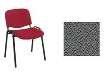 Židle konferenční Positano šedá 1ks