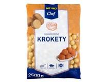 Metro Chef Krokety kulaté mraž. 1x2,5kg