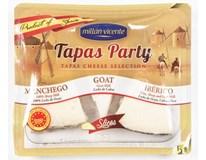 Tapas Mix tvrdých sýrů plátky chlaz. 1x150g