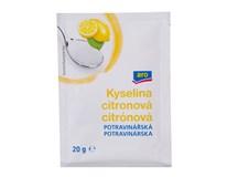 ARO Kyselina citronová potravinářská 25x20g