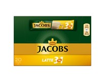 Jacobs Café latté káva instantní porce 1x250g